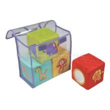 Fábrica de enchidos de pelúcia Blocks Rattle Toy