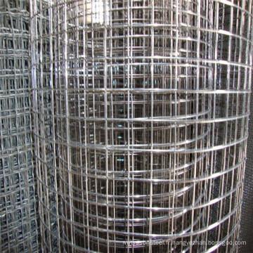 Treillis métallique soudé galvanisé électique