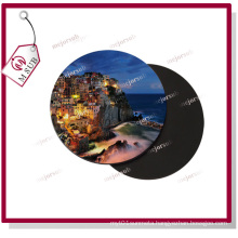 Sublimation Poly Fabric Rubber Coaster with Logo
