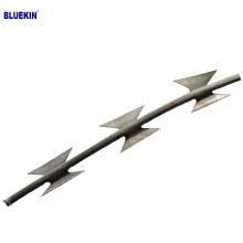 BTO-22 hot dipped galvanized concertina razor wire