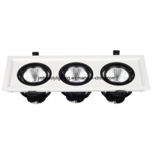 7W LED Downlight LED Luz de techo LED Iluminación