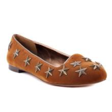 Heiße Verkaufs-Stern-obere flache Frauen-kausale Schuhe (YF-30)