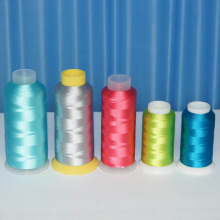 Quality Promotional 100% Rayon Embroidery Thread 120d/2