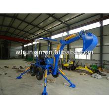 Производство мини-экскаваторов WeiFang RunShine (RXDLW-22)