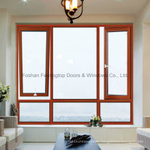 Feelingtop Top/Bottom Hung Thermal Break Casement Aluminium Window