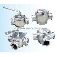 Санитарный пробковый клапан из нержавеющей стали