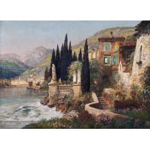 Современная декорация средиземноморской масляной живописи