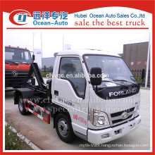 Foton factory high quality arm-hook garbage truck