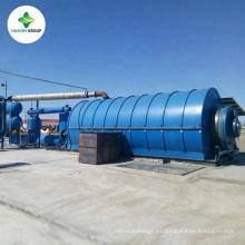 La pirólisis residual más caliente y más nueva del neumático del diseño a la planta de petróleo crudo con CE e ISO