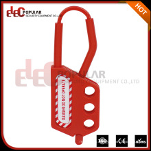 Elecpopular New China Products For Sale Insulation Hasp For Padlock Safety Plastic Hasp Lock