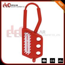 Elecpopular New China Products For Sale Isolamento Hasp para Cadeado Segurança Plastic Hasp Lock