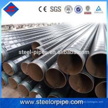 Últimos produtos sch40 black erw pipe
