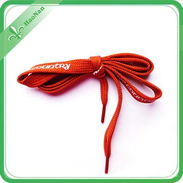 Mode-Segeltuch-Schuh-Goldfaden und bunte Schnürsenkel fertigten Länge besonders an