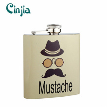 Stainless Steel Mini Pocket Promotional Hip Flask for Gift