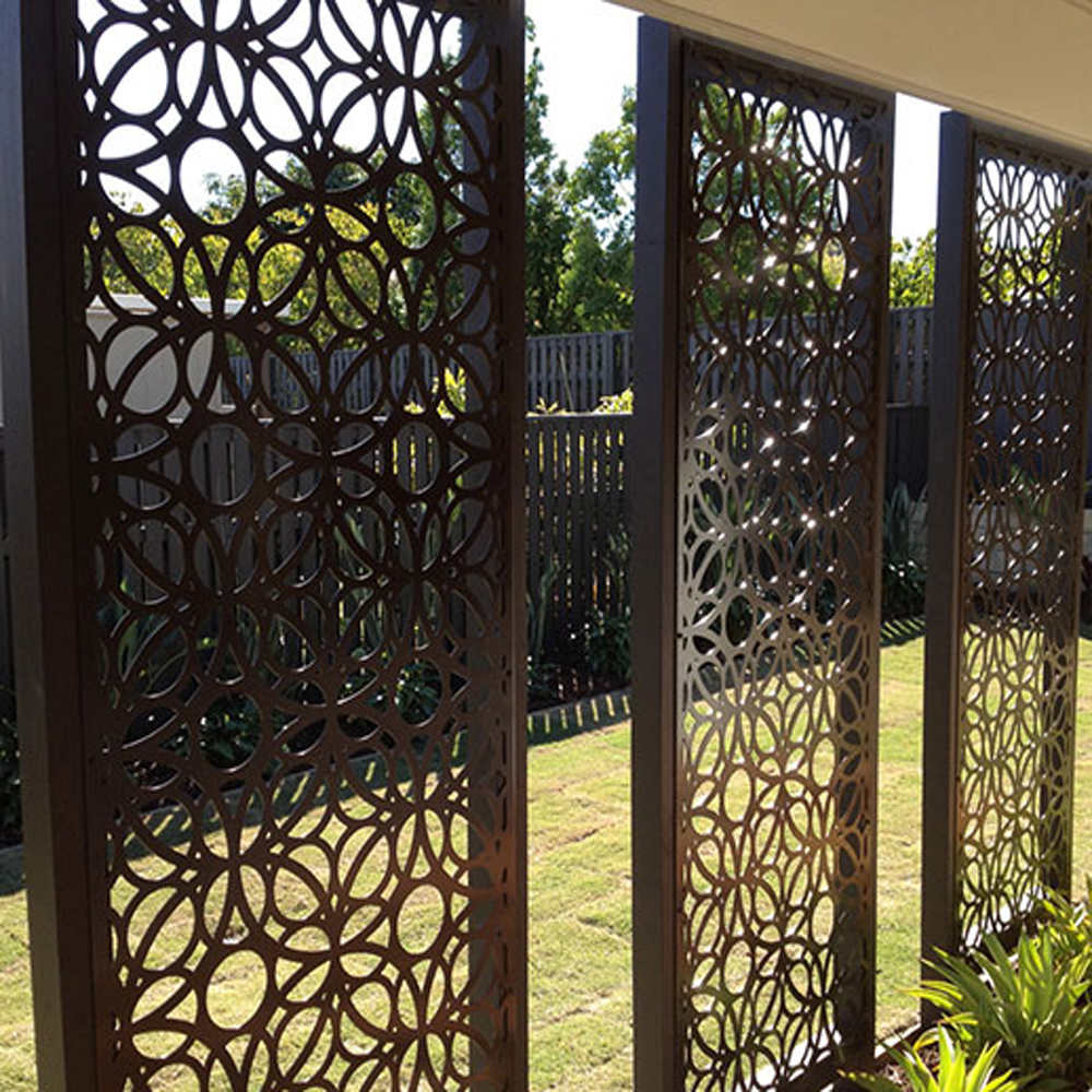 Steel Laser Cut Fences