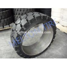 Presse 21x5x15 21x6x15 sur pneu de couleur solide sans marquage