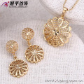62424-Xuping Fashion Woman Jewlery Set with 18K Gold Plated