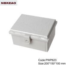 Пластиковые водонепроницаемые наружные корпуса с распашной дверцей корпус для наружной телефонной связи распределительная коробка для установки на поверхность коробка ip65