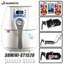 newest product 3d mini sublimation vacuum machine for sublimation cell phone case printing