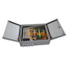 Boîte en métal à double porte à fibre optique 48 fibres