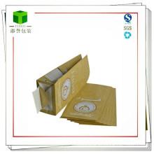 Bolsa de harina de papel, 2 capas, hechas de Kraft, de grado alimentario Bolsas