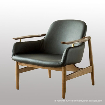 Home Design Furniture Modern Living Room Canapé en cuir Chaise