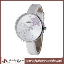 Горячий продавать часы простой большой Циферблат часы девушка часы