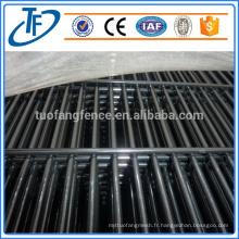 Clôture anti-escalade en acier galvanisé à haute sécurité 358