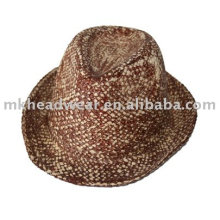 Chapeau de cow-boy en paille à la mode