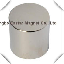 N38 Neodym große Scheibenmagnet mit Zink/Nickel/Epoxy Beschichtung