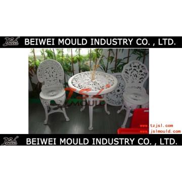 Plastic Luxus Stuhl und Tisch Form