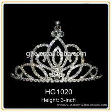 Mini princesa tiara princesa coroa tiara silicone coroa real tiara