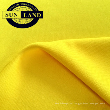 75D72F 100% poliéster tejido de enclavamiento para tejido de trama textil