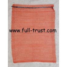 Orange Raschel Mesh Bag F (15-12)