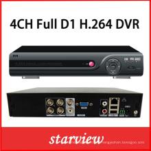 4CH Full D1 P2p Nube DVR