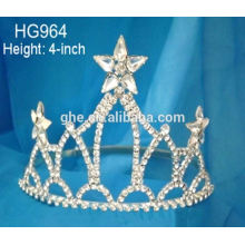 Jóias por atacado tiara festa tiara coroa tiara para crianças 4 de julho piscar levou tiara