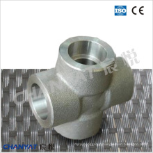 Sch80/Xs/Sch160/Xxs Forged Fitting Cross (1.4501, X2CrNiMoCuWN25-7-4)
