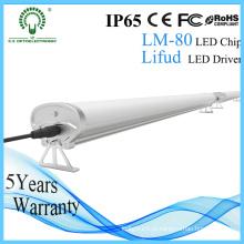 1200mm 4FT 40W 50W IP65 Waterproof a luz industrial à prova de intempéries úmida do diodo emissor de luz da poeira