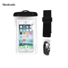 2020 hot selling pvc cellphone case waterproof bag for phone for camping hiking and swimming