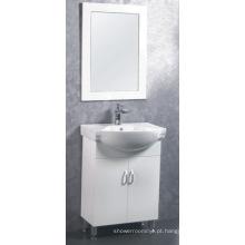 Mobília do armário de banheiro do MDF / PVC de 60cm (C-6302)