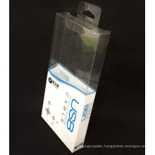 Custom printing plastic folding PVC packing box (gift package)