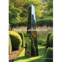 David Harber Stahl Obelisken Garten Obelisken aus spiegelpoliertem Edelstahl