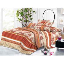 Home Hotel Floral Printed Textiles Polyester Bedding Sheets