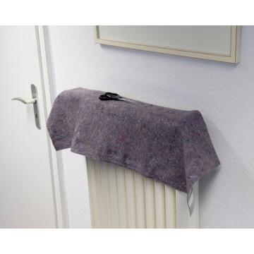 Tapis de laine de tissu décoratif polyester feutre couverture polaire
