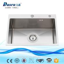На заказ Размер встройной раковина 24x18inch дробилка с faucet