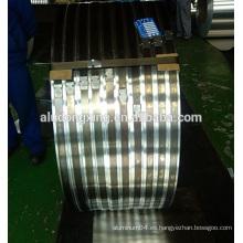Banda estrecha de aluminio