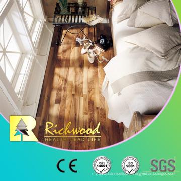 Plancher laminé de planche de vinyle de parquet d'érable de noix de stratifié de 8,3 mm HDF