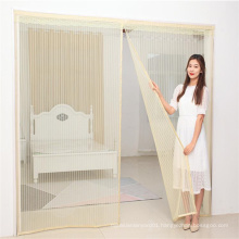 Easy installation full frame magnetic door screen with 36 strong magnets