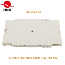 Bandeja de Emenda de Fibra Óptica de 12 ou 24 Cores (Série FST-A)