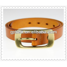 New design ladies genuine leather belt